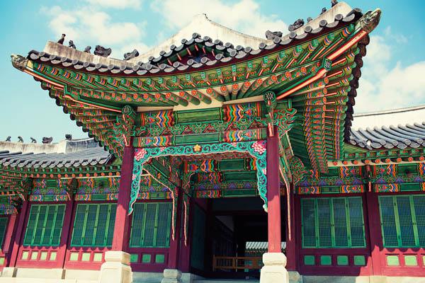 Seoul palais Changdeokgung 600