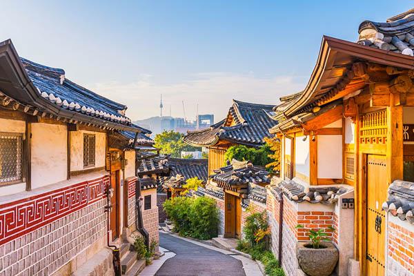 Séoul voyage Bukchon hanok