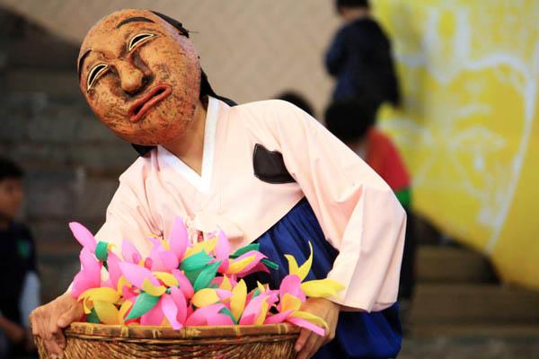 andong danse masques