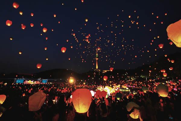 Lanternes Festival Daegu