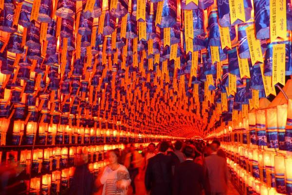 Lanternes festival Jinju