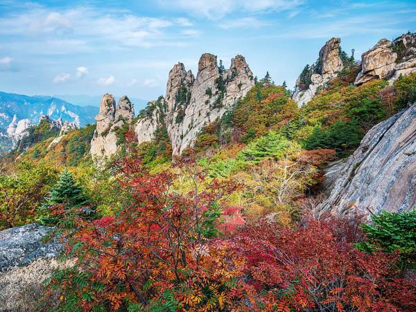 Corée du sud en automne