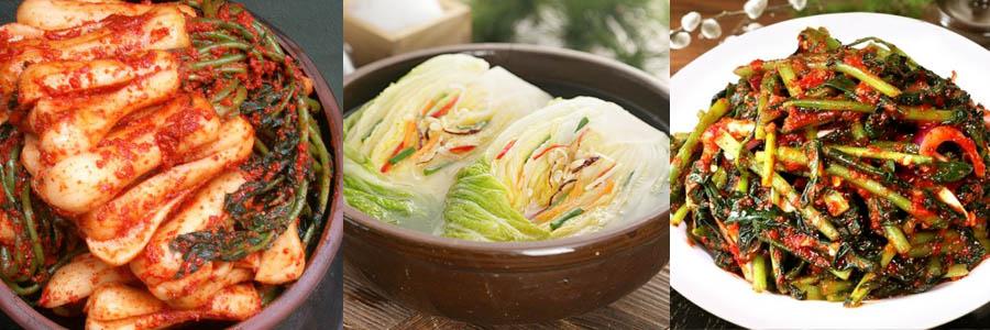 kimchi variété