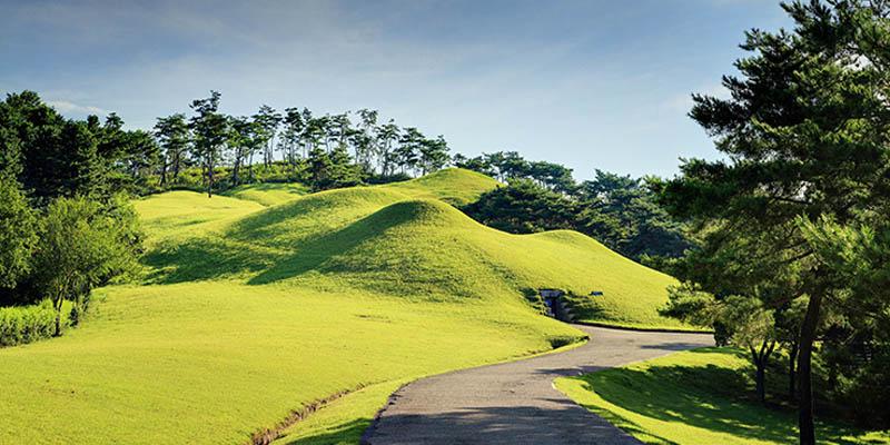 gongju tombes baekje