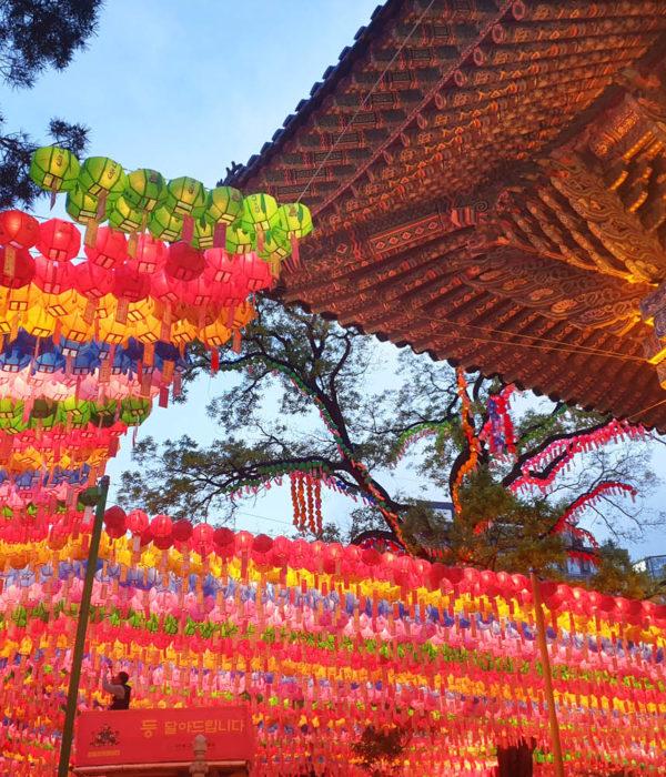 corée circuit festival lanternes 15 jours