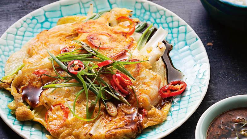 Pajeon végétarien corée du sud