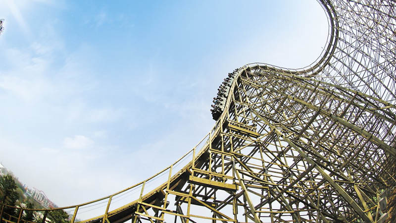 Seoul_option_Everland_roaller coaster