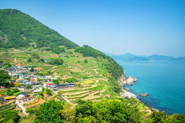 Namhae Corée du Sud
