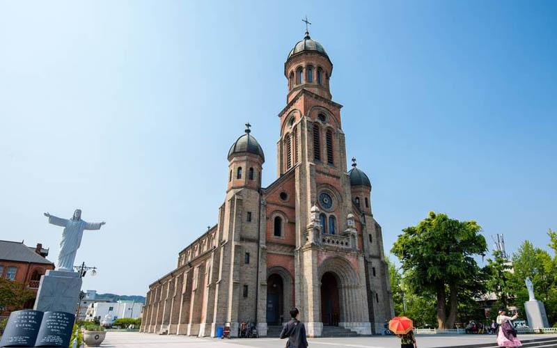 jeonju visite cathedrale