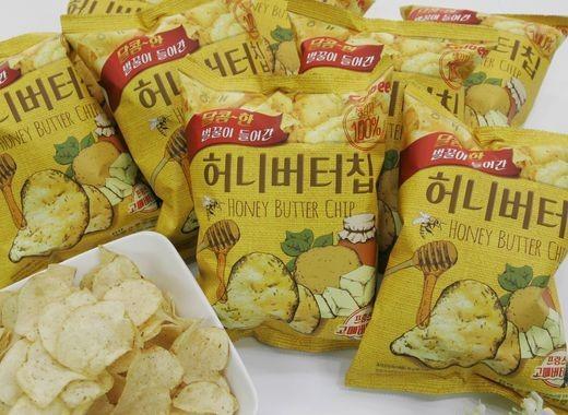 chips miel beurre honey butter